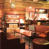【ソファ席】お洒落カフェと言えばまったりソファ席。