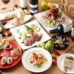 ワイン×日本酒×バル ZEROのコース写真