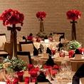 【併設会場】同窓会など、立食パーティーは200名までOK!