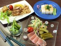 選べる料理2種付!月~木限定の単品飲放2000円!