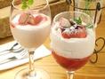 デザートは季節の果実を使い、四季に合わせて楽しめるのも魅力です。