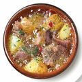 料理メニュー写真イベリコ豚とジャガ芋のアヒージョ ~たっぷり黒胡椒風味~