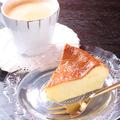 料理メニュー写真手作りチーズケーキ