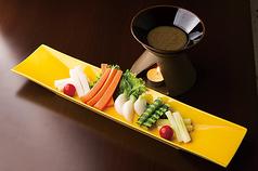 フレッシュ野菜のスティックサラダ