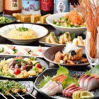 [静岡駅前店]飲み放題付宴会コースは6種で完全個室用意!