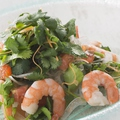 料理メニュー写真海老とパクチーのエスニックサラダ