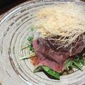 料理メニュー写真黒毛和牛焼しゃぶサラダ