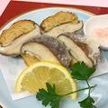 料理メニュー写真椎茸の海老しんじょう詰め(裏白)