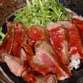 料理メニュー写真牛サーロインステーキ丼