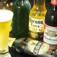 ◆◆ビールはやっぱり生ビール!◆◆しっかりと泡切りしてクリーミーな泡を、ビールによって泡の質も分けています。ギネスはしっかりサージンクし、濃厚な泡を!!バスペールエールはふわふわの泡をしっかりと中まで注ぎ込みまろやかに!エクストラコールドはキリッとマイナス2,2度の氷点下にきめ細かな泡を注ぎます!