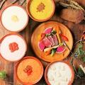 料理メニュー写真5種の味が選べるチーズフォンデュ