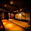 個室完備!ご人数に合わせてお席をご用意!寛ぎの空間をご提供致します。※画像は系列店イメージです
