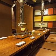 渋谷の隠れ家★落ち着ける空間が自慢の個室席をご用意