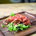 料理メニュー写真鶏もも肉のピリ辛トマト