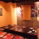 8~10名様まで利用可能な個室