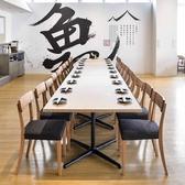 一列で20名様の宴会用テーブルの作成も可能です。