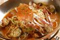 料理メニュー写真渡り蟹のパスタディナー【2名様分】