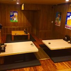 お座敷の掘りごたつ席の広間は、4名様~ご用意。最大12名様までご利用可能となっております。