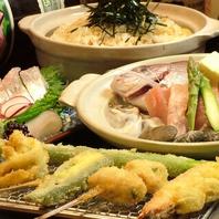 宴会コースは瀬戸内鮮魚のお刺身・料理と自慢の串揚げ
