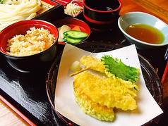 うどん本丸のおすすめ料理1