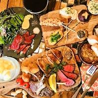 【肉バルメニュー登場!】牛・鶏・豚ステーキなど多彩☆