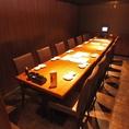 テーブル席で大宴会!急な飲み会も北海道をご利用下さい★