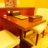<2名テーブル>ご友人やご夫婦で♪ゆったり寛げる最適な空間♪