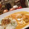 料理メニュー写真バターチキンカレー(ライスorナン)