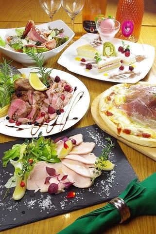 職人が魅せる本物のイタリアンレストラン