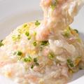 料理メニュー写真具だくさんの五目炒飯 / カニ肉の卵白あんかけ炒飯