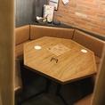【2F】グランピングスタイルの個室席!2名~最大7名様まで収容可能◎ご予約はお早めに!フロア貸し切りも最大30名様までご利用可能!