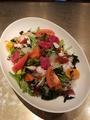 料理メニュー写真○月特製海鮮サラダ