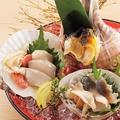 料理メニュー写真北海道産 貝刺三点盛り合わせ