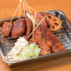 料理メニュー写真味噌串カツ(1本)
