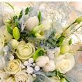 送別会や大切な記念日に送る花束も5,000円~ご予算に応じてご用意♪