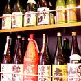 焼酎や日本酒もバラエティ豊富!旨い魚とう旨い酒で今宵もカンパイ!