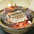 料理メニュー写真〆鯖藁焼き