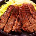 料理メニュー写真牛たんステーキ
