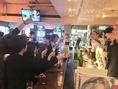 渋谷での貸切パーティやお友達の誕生日には、飲んで遊べるJUNK CAFE TOKYOできまり♪♪