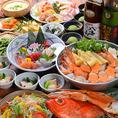 季節ごとに替わる鍋コースは人気