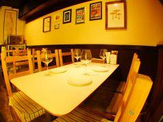 テーブルは4名様、6名様がご利用出来ます。
