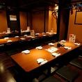 34名様程度の個室です!!岡山駅周辺で個室の居酒屋と言ったら、若の台所岡山駅前店です♪是非、当店をご利用ください!お待ちしております!!