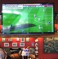 大型TVでスポーツ観戦はもちろん、お好きな映像を流してサプライズもできちゃいます。
