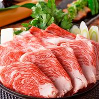 番屋 有楽町店自慢の特選和牛のすき焼き