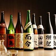 常時40種以上の地酒