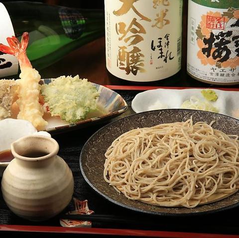 淵野辺駅から徒歩5分!本格そばと日本酒が味わえるお店【SOBA.る】