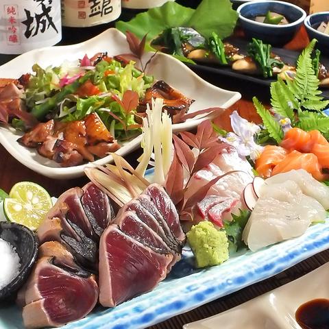 【会社宴会にオススメ】個室も完備。充実した料理内容が人気の宴会コース4400円~!