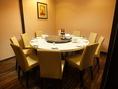 中華といえば円卓!円卓個室は12名様のお席です。ゆったりとした個室空間でおくつろぎいただけます♪会社宴会はもちろん、友達同士でのプライベートでも◎