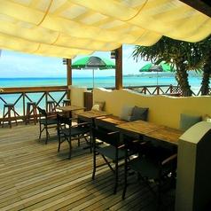 浜辺のTipi Cafe アルガイド沖縄の雰囲気1