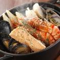 北海道厳選食材!!山盛り魚介のアーリオオーリオ 1480円(税抜)